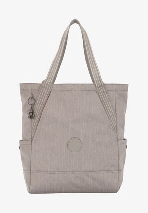 ALMATO - Shopping bag - grey/beige
