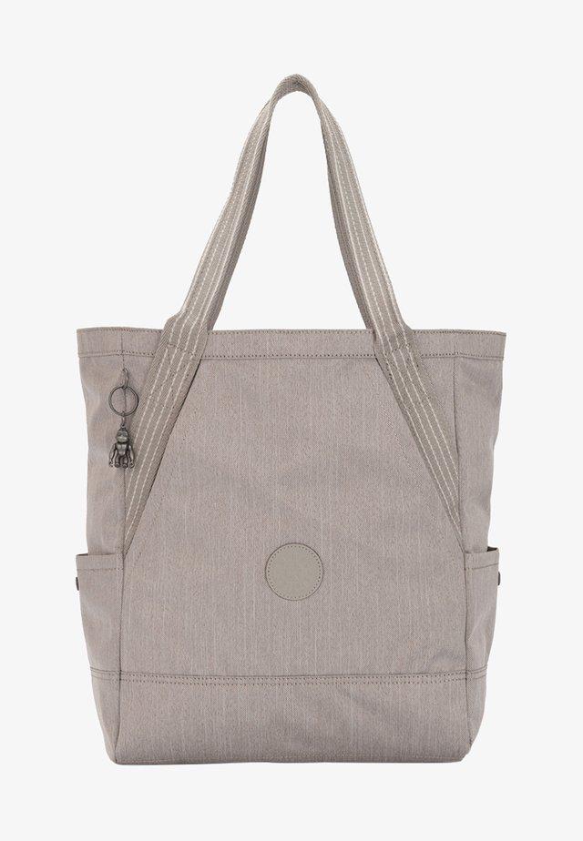 ALMATO - Tote bag - grey/beige