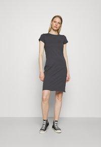 Anna Field - Žerzejové šaty - dark grey - 0