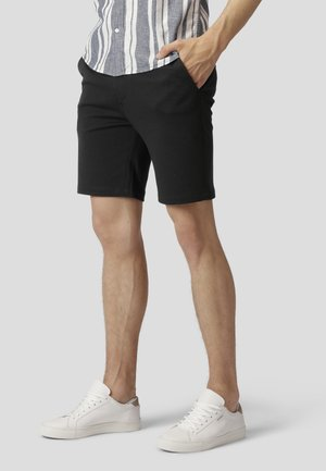 MILANO JERSEY SHORTS - Shorts - black