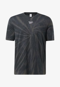 Reebok Classic - CLASSICS TIE-DYE T-SHIRT - T-shirt imprimé - black - 4