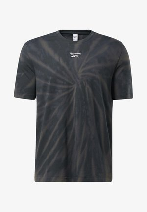 CLASSICS TIE-DYE T-SHIRT - T-shirt imprimé - black