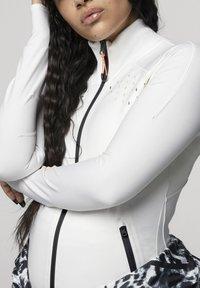 adidas by Stella McCartney - ADIDAS BY STELLA MCCARTNEY TRUEPURPOSE MIDLAYER JACKE - Sports jacket - white - 2