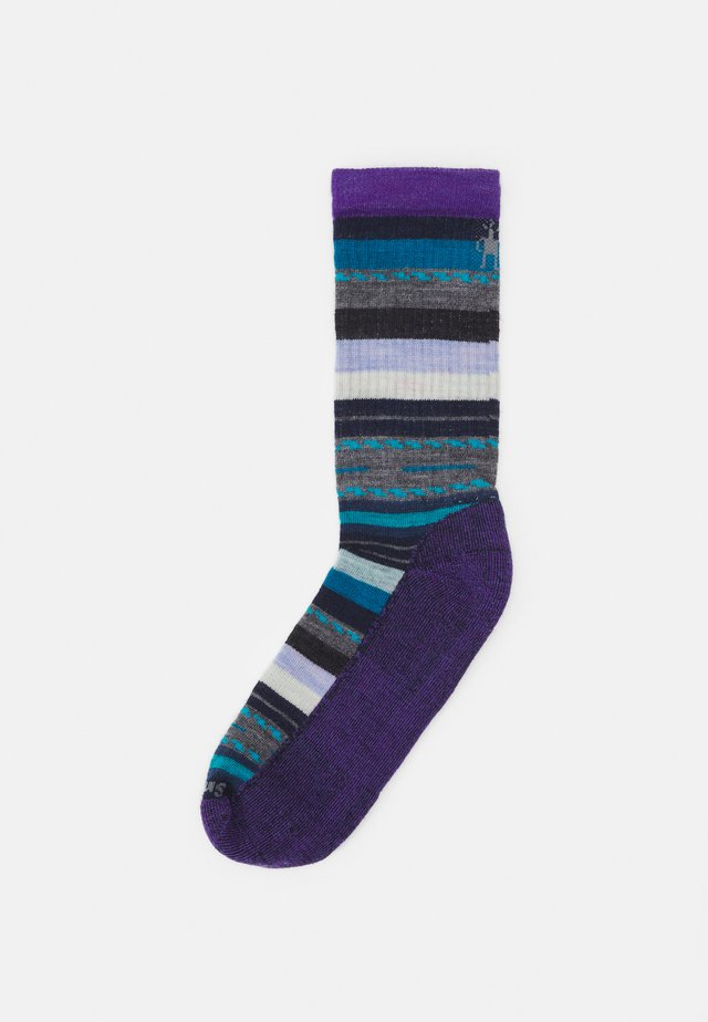 WOMEN'S HIKE LIGHT MARGARITA CREW - Sports socks - desert orchid