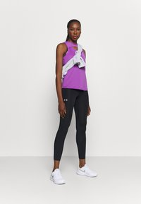 Under Armour - FLY FAST - Leggings - black - 1