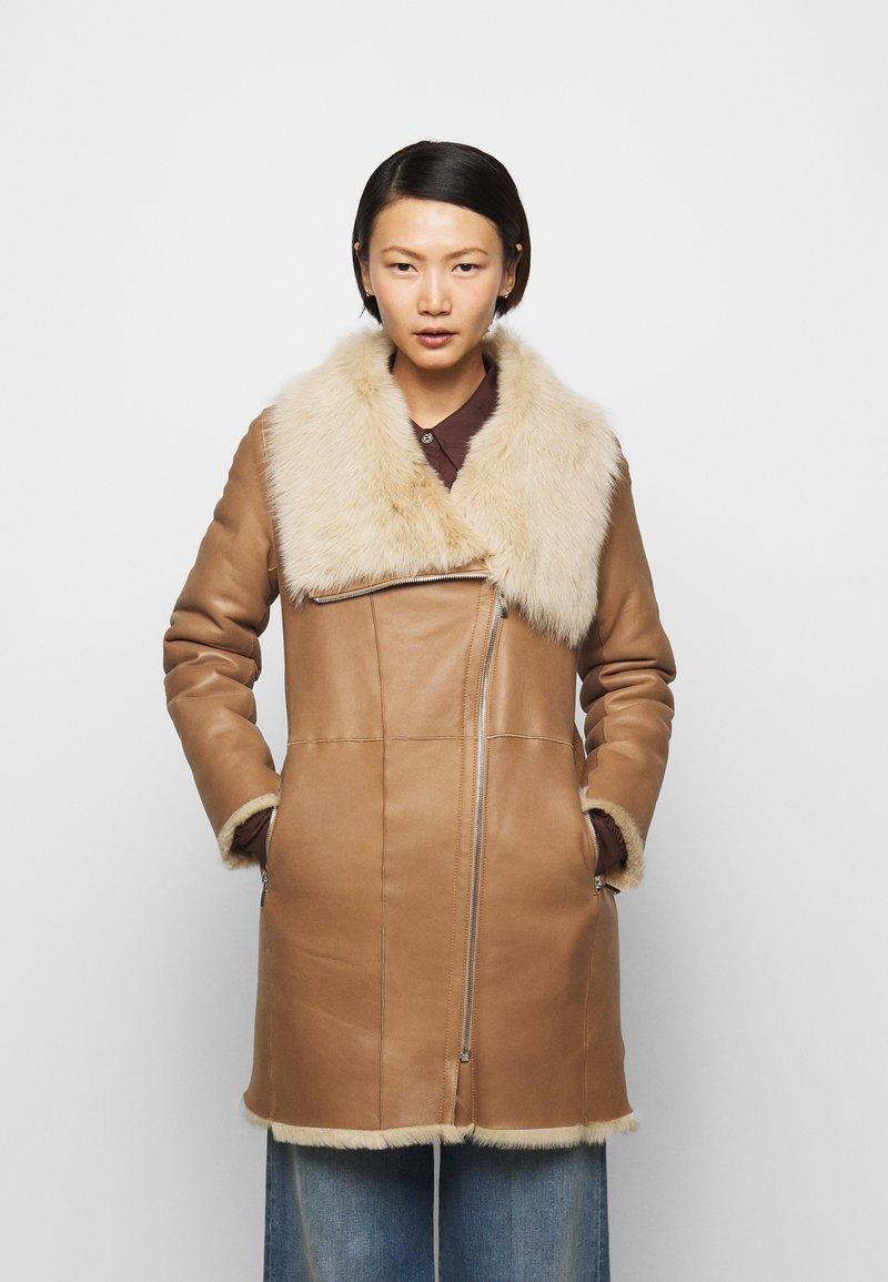 STUDIO ID - CLASSIC COAT - Winter coat - camel/light camel