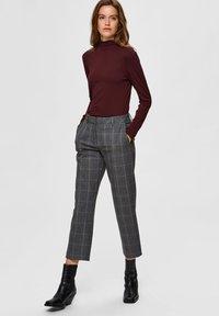 Selected Femme - Pantaloni - medium grey melange - 4