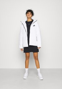 Nike Sportswear - DRESS - Jersey dress - black/white - 1