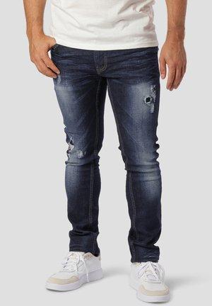 BRICE - Slim fit jeans - dark blue washed