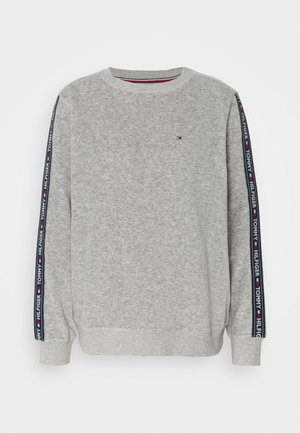 AUTHENTIC TEXTURE TRACK - Nattøj trøjer - mid grey heather