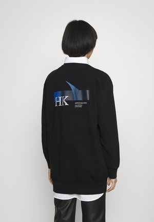 RELAXED CREW - Mikina - faded black