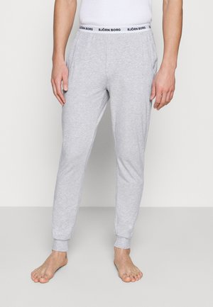 SOLID CLIFF CUFFED PANT - Pyjama bottoms - grey melange