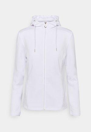 JARLA - Zip-up hoodie - white