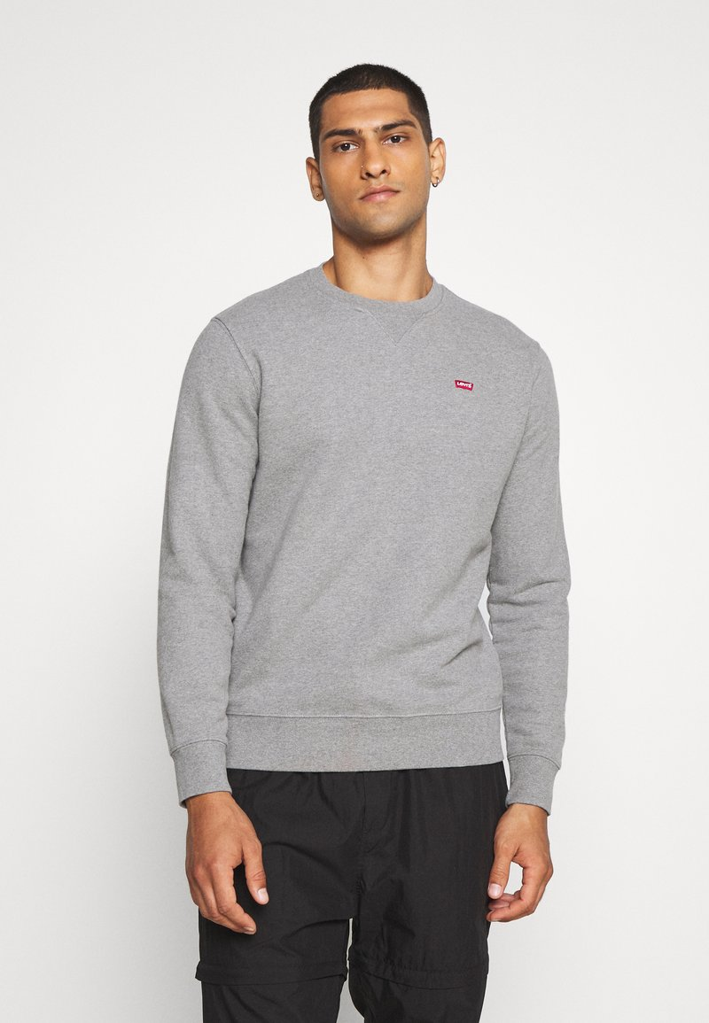 Levi's® - NEW ORIGINAL CREW UNISEX - Felpa - chisel grey heather