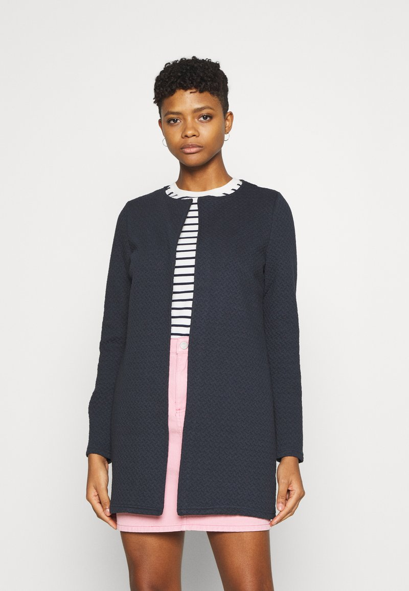 Vila - VINAJA NEW LONG JACKET - Cardigan - total eclipse