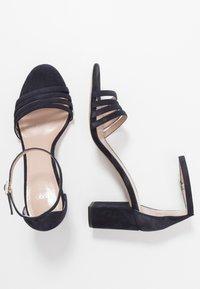 HUGO - APRIL - Sandals - dark blue - 3