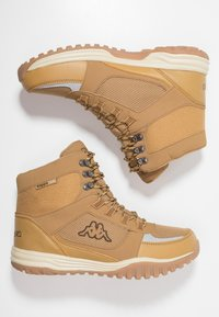 Kappa - SCORVA TEX - Hiking shoes - beige/black - 1