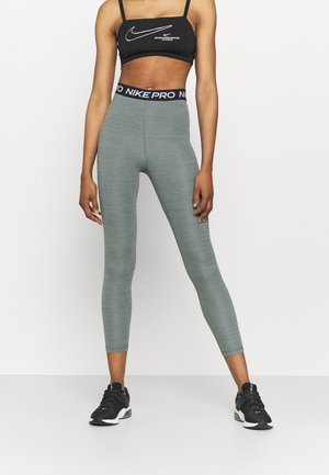 365 7/8 HI RISE - Leggings - smoke grey heather/black