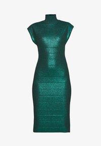 Hervé Léger - MOCK NECK DRESS - Sukienka etui - green - 5