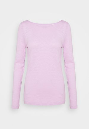 Long sleeved top - breezy lilac