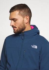 The North Face - NIMBLE HOODIE - Veste softshell - blue wing teal - 3