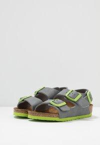 Birkenstock - MILANO - Sandals - grey/green - 3