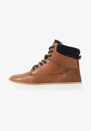 Sneakers high - brown