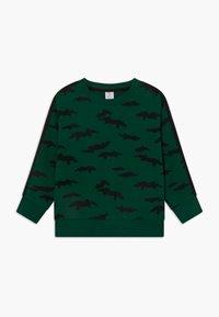 Lindex - MINI STREET PANEL - Sweatshirt - dark green - 0