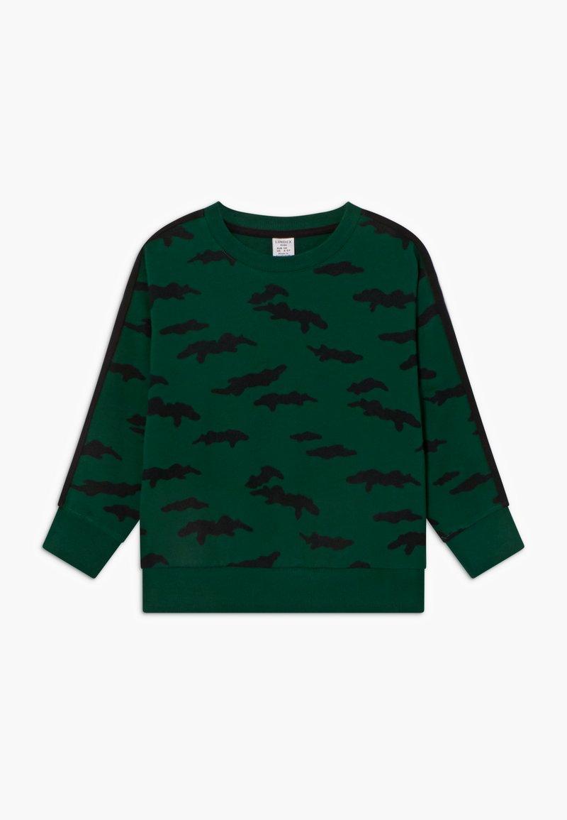 Lindex - MINI STREET PANEL - Sweatshirt - dark green
