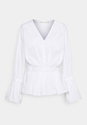 JULIANE BLOUSE - Long sleeved top - pure white