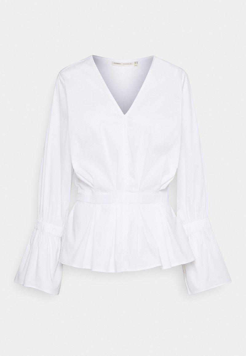 InWear - JULIANE BLOUSE - Long sleeved top - pure white