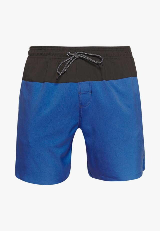 SWIM MEN LOGO MEDIUM LENGTH - Shorts da mare - blue / grey