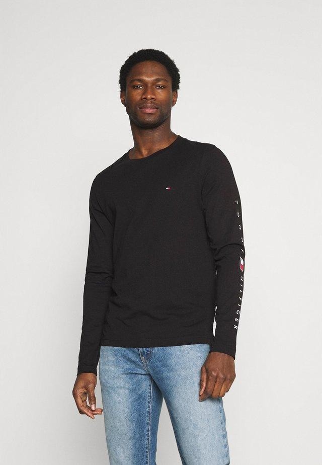 ESSENTIAL TEE - Langærmede T-shirts - black