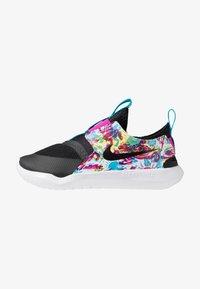 Nike Performance - FLEX RUNNER FABLE - Neutrální běžecké boty - black/white/fire pink/blue fury - 1