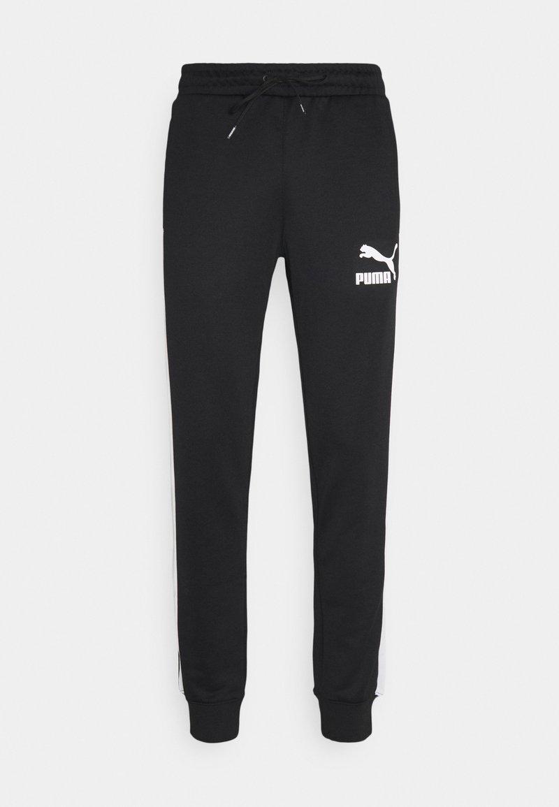 Puma - ICONIC - Pantalon de survêtement - black