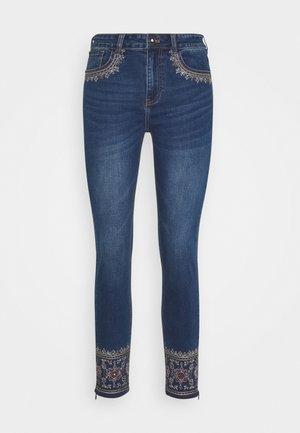 ROUS - Slim fit jeans - blue denim