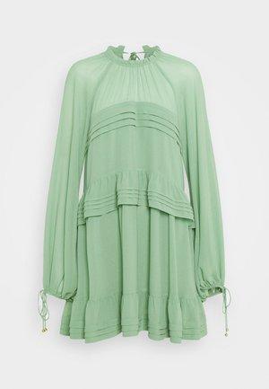 TIERED MINI - Day dress - mint