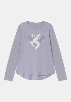 GIRL  - T-shirt à manches longues - jet stream blue
