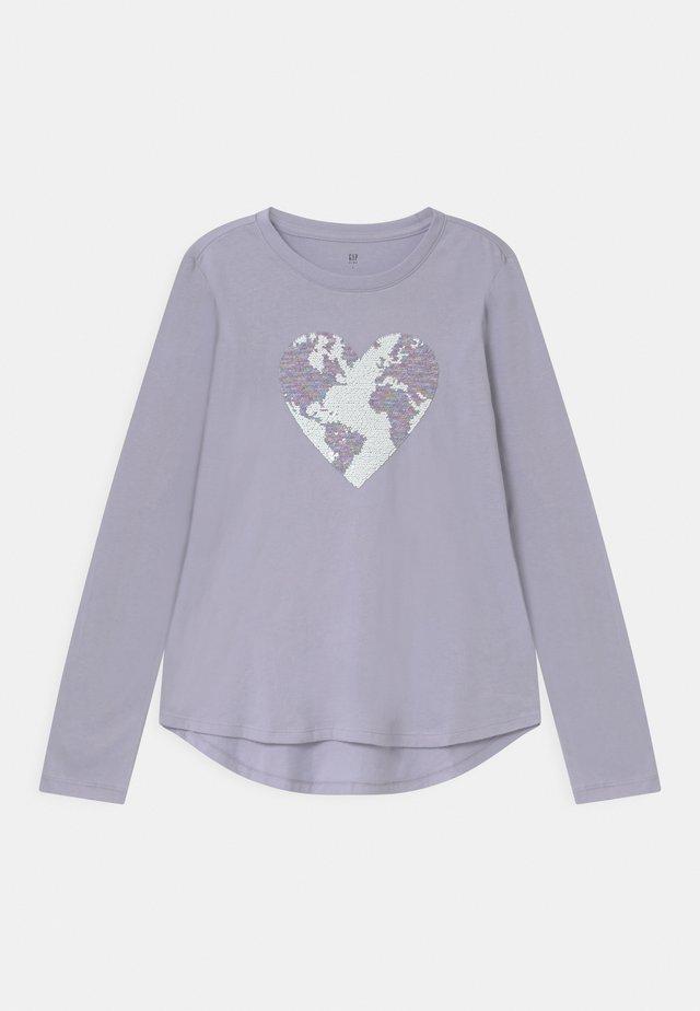 GIRL  - Pitkähihainen paita - jet stream blue