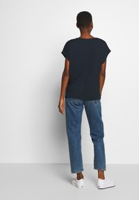 TOM TAILOR - CRINCLE - Basic T-shirt - sky captain blue - 2