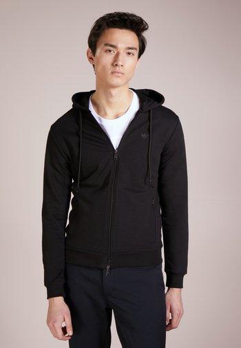 ZIPPED HOODIE  - Zip-up sweatshirt - nero