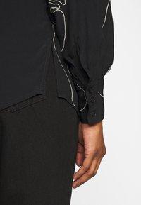 ICHI PETITE - IHCARISSA - Button-down blouse - black - 6