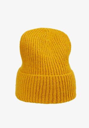 JADIA MIX BEANIE - Mütze - golden yellow