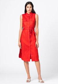 HALLHUBER - Shirt dress - geranie - 0