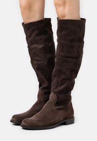 ECCO - SARTORELLE  - Vysoká obuv - brown - 0