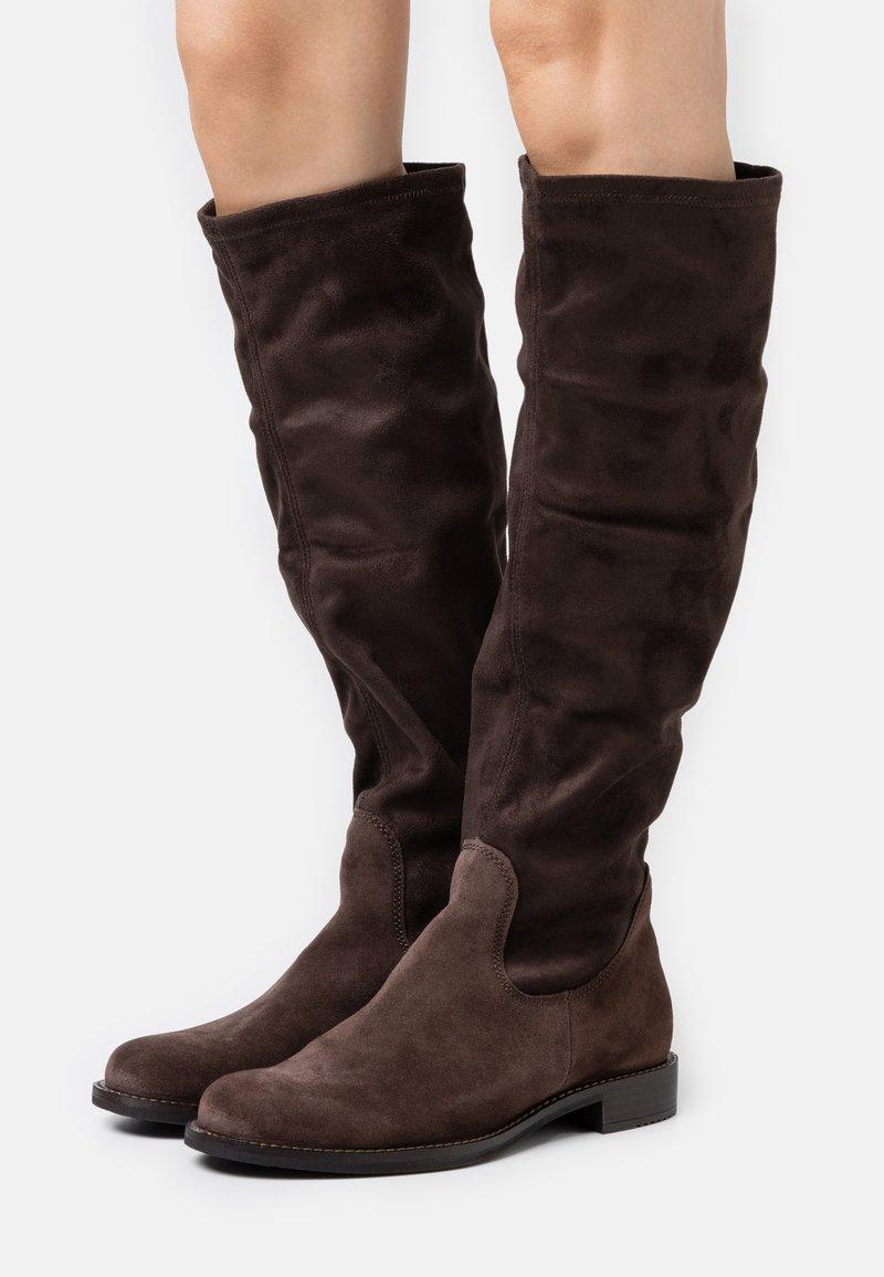 ECCO - SARTORELLE  - Vysoká obuv - brown