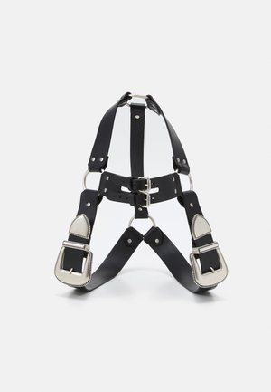 BELTS VAQUERO HARNESS - Pasek - black