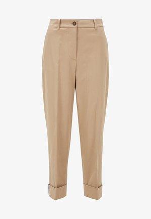 TACHINO - Trousers - beige