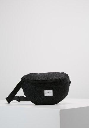 HARVARD BUMBAG - Saszetka nerka - glitter black