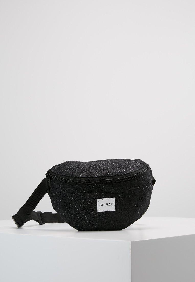 Spiral Bags - HARVARD BUMBAG - Bum bag - glitter black